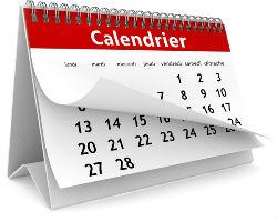 calendrier STCvertus IPSC club